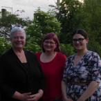 Die neuen (und alten) Vorsitzenden: Petra Volkwein, Kerstin Lang und Stefanie Wunder (v.l.n.r)
