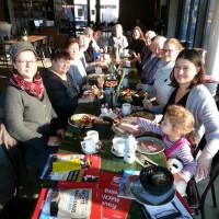 Die ASF im Cafe Holler in Ingolstadt
